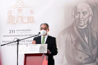 Con acciones concretas, gobiernos de la 4T construyen el anhelo de la independencia: Melitón Lozano