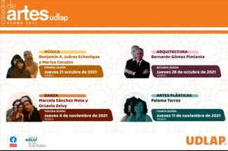 La UDLAP presenta la tercera edición de su Cátedra de Artes UDLAP
