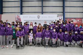 Puebla reconoce el esfuerzo de los paratletas, son unos triunfadores de vida: MBH