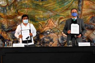 SEP e INPI impulsarán la inclusión de los pueblos indígenas en la educación pública