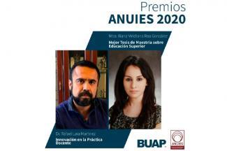 Reconocen a docentes BUAP con Premios ANUIES 2020