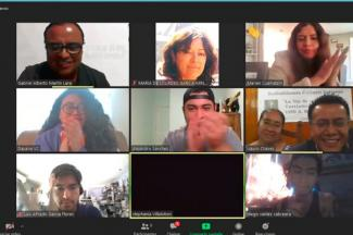 Alumnos de UMAD realizan conversatorio con Radio Indigenista