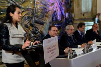 Suman esfuerzos UNAM y SEP para mejorar espacios educativos
