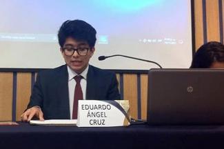 Eduardo Ángel Cruz, egresado BUAP, encabeza la lista de seis becados para estudiar el posgrado en la Universidad de Téramo, Italia