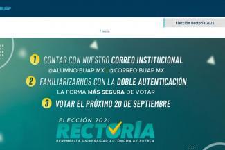 Se alistan universitarios para elegir rectora o rector en la BUAP; será voto electrónico, secreto y sectorial