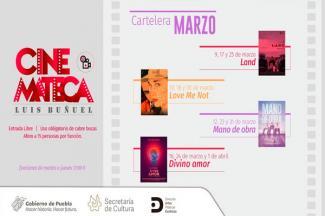 Impulsa Cultura funciones en la Cinemateca Luis Buñuel
