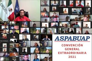 Por unanimidad aprueban el informe financiero y de actividades del Comité Ejecutivo General de la ASPABUAP