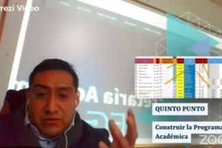 Participa Miguel Soto García en el Ciclo de Conversatorios de la ASPABUAP