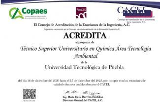 Reconoce CACEI excelencia de servicios educativos de la UTP