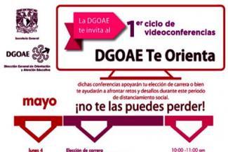 Inicia la UNAM ciclo de conferencias en línea sobre orientación vocacional