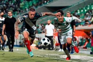 El Puebla igualó 1-1 con Santos