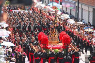 Puebla vivió de manera virtual su XXX Procesión de Viernes Santo