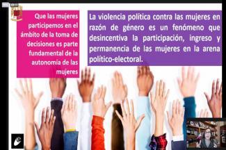 Persisten discriminación y violencia contra mujeres: Carola García