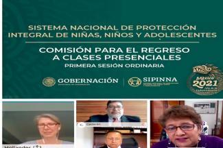 Instalan SEP, Sipinna y organizaciones civiles Comisión para el Regreso a Clases Presenciales