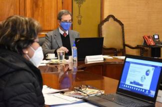 Encabezan Esteban Moctezuma Barragán y Delfina Gómez Álvarez la XXII Reunión Extraordinaria del Conaedu