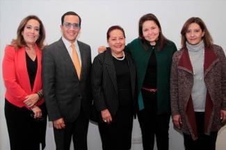 Blanca Alicia Mendoza Vera, Procuradora Federal de Protección al Ambiente visita la ANÁHUAC