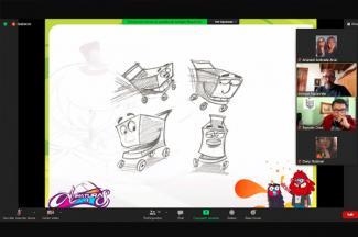 Animador de Shrek charló con estudiantes de la UMAD