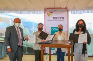 Ofrecerá Conafe educación comunitaria a hijas e hijos de mujeres víctimas de violencia