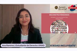 Alumnas de Derecho UMAD brindan interesantes ponencias