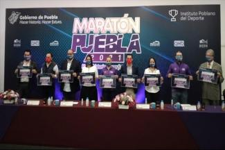 Presenta INPODE Maratón Puebla 2021