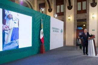 Es necesario volver a clases presenciales, afirma López Obrador