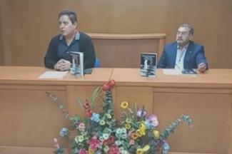 Presento Germán Molina libro